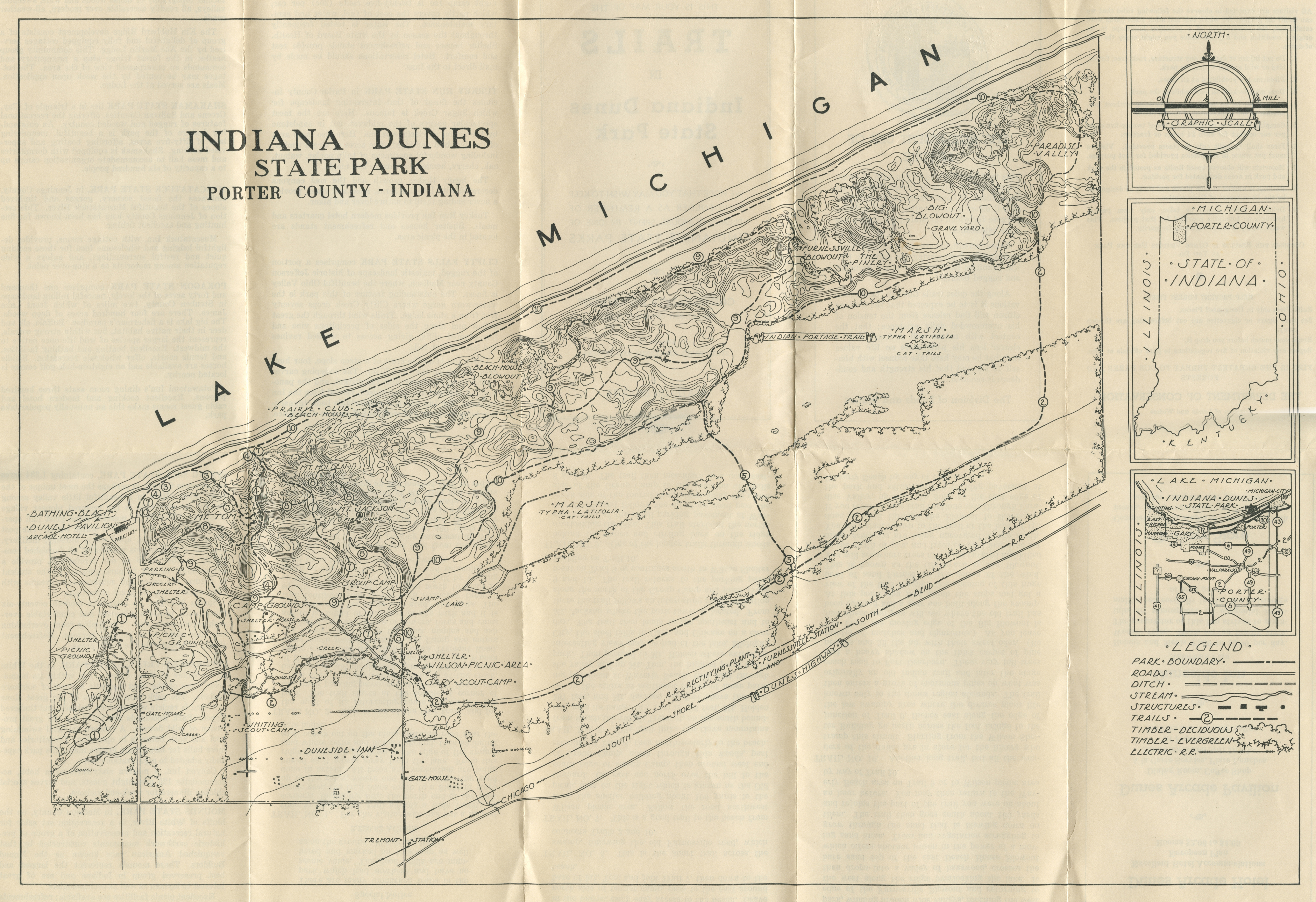 Porter Indiana Map.Porter County Indiana Genweb Westchester Township Maps