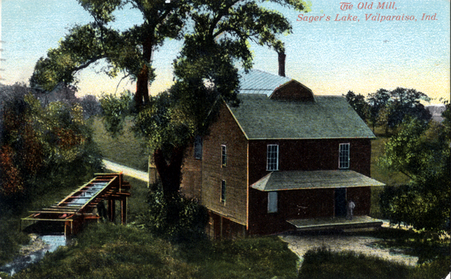 The Old Mill, Sager's Lake, Circa 1910